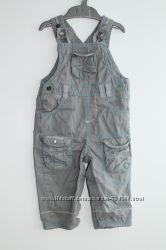комбинезон хб деним, не джинсовый, 12-18 мес, р. 83 см