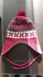 Теплая шапка на зиму, бу