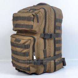 Однотонный тактический рюкзак на 45 литров