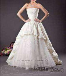 Дизайнерское свадебное платье   подарки
