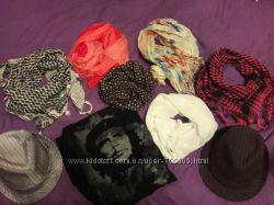 шарфы, шляпки