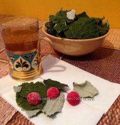 Органический чай Легкие роды  листья малины