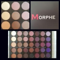 Morphe тени матовые профессиональные 35 цветов