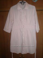 туника рубашка для беременных . размер 12