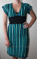 Платье в полоску Warehouse