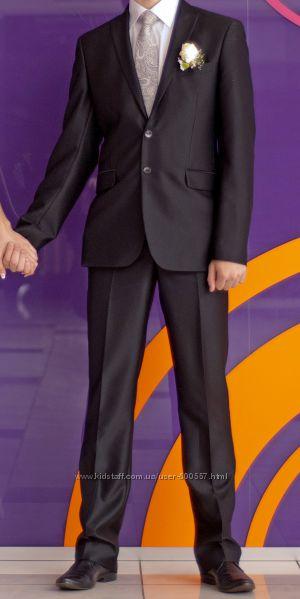 Костюм, рубашка, галстук