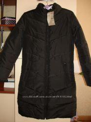 Пальто для девочки-подростка новое черное демисезонное размер XS 40-42