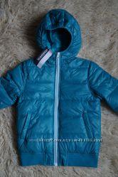 Куртка демисезонная, бирюзовая, новая для девочки, мальчика р. 30-34