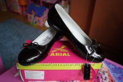 Туфли ортопедические для девочки, черные, новые, размер 33, 34, 35