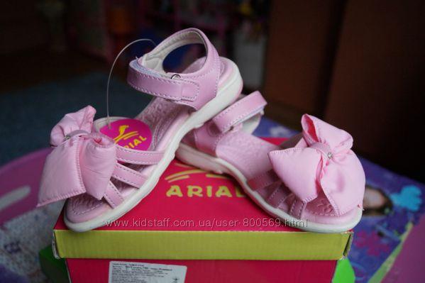 Босоножки для девочки, розовый цвет, новые, 25, 34 размер