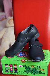 Туфли для мальчика, новые, черные, размеры 34, 36, 37, 38, 39