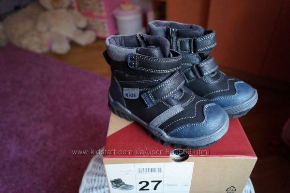 Ботинки для мальчика демисезонные, новые р. 27, 28, 29, 30