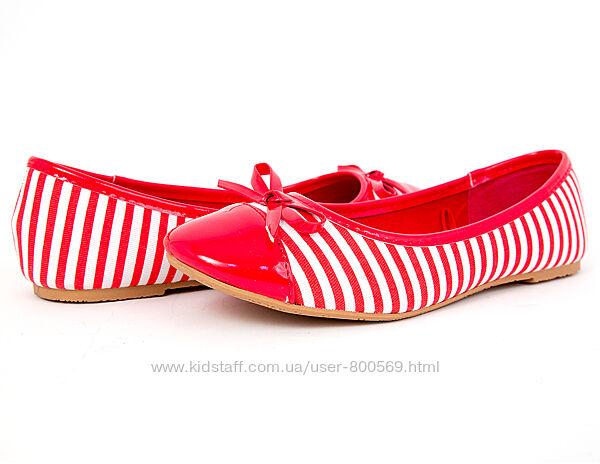 Балетки, туфли для девочки новые р. 34,36,37