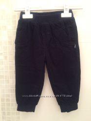 Chicco вельветовые штаны на подкладке размер 12 месяцев