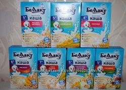 Беллакт каши Каша молочная безмолочная смесь детское питание