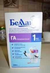 Смесь для детей с риском аллергии Беллакт ГА 1 , Беллакт ГА 2