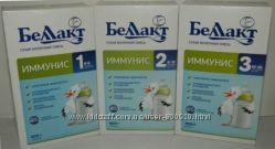 Детское питание Беллакт Иммунис-1 Иммунис-2 Иммунис-3 Иммунис 1 2 3