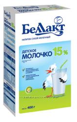 Беллакт Детское молочко с витаминами и инулином М. Д. Ж. 15