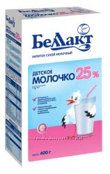 Беллакт Детское молочко с витаминами и инулином М. Д. Ж. 25