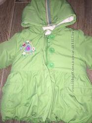 Куртка теплая Butterfly Girl  размер 2-3 года