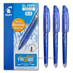 Пиши-стирай ручка PILOT Пилот 0, 5 мм. Япония. Пишет стирает, стирающаяся