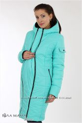 Куртка для беременных зимняя, двухсторонняя