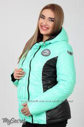 Деми-куртка для беременных, мохито