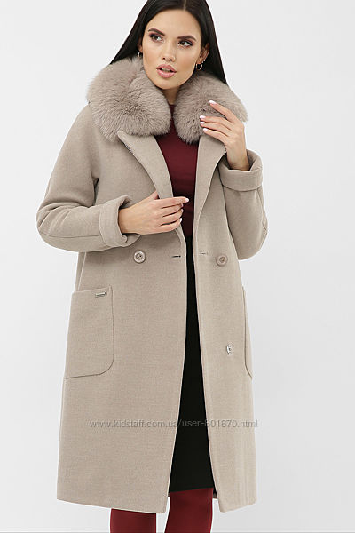 Элегантное зимнее пальто, классика