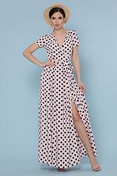 Легкое платье на запах Топ продаж
