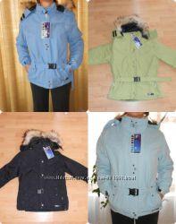 Профессиональные пуховики зимнии женские куртки  на мембране FREESTEP Новые