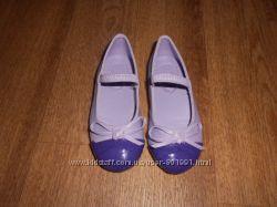 Новые туфли балетки из Америки, стелька 13, 6 см. Размер 21-22