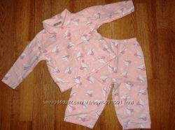Пижама байковая фирменная 12-18 мес. Состояние хорошее