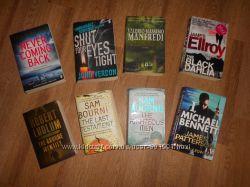 Книги на английском языке детективы, триллеры, экшн, приключения, ужастики