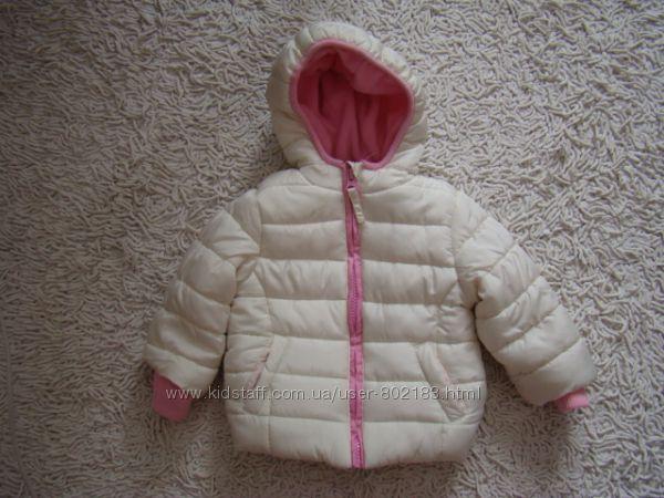 Очень красивая демисезонная курточка Mothercare на 6-9 месяцев