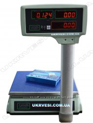 Весы электронные торговые ВТЕ-Центровес-15-Т2-СМ