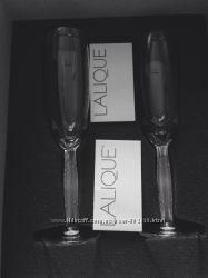 Хрустальные бокалы Lalique