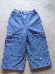 Теплые и очень удобные штанишки  mothercare на флисе 92 разм