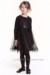 Нарядное платье h&m , размер 122, 6-7 лет. Одно осталось