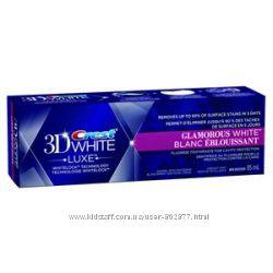 Отбеливающая зубная паста Crest 3D White Glamorous Luxe