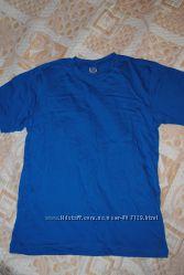 Новая футболка, голубая, М