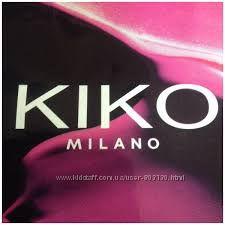 Kiko - карандаш-блеск для губ, карандаш для глаз, подводка,  тушь