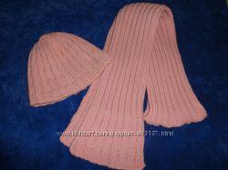 Комплект шапка и шарф Польша
