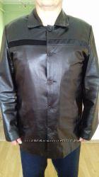 Кожаная куртка , XXL размера