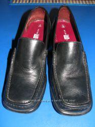 Классные кожанные туфли New Look