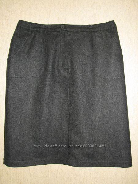 Стильная тёплая юбка Marks&Spencer