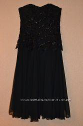 Шикарное вечернее платье-бюстье