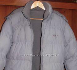 Куртка зимняя двусторонняя на синтепоне