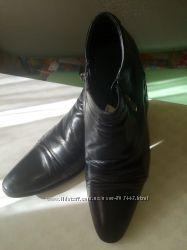 Туфли-ботинки демисезонные кожа