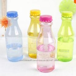 Пластиковая бутылка BPA Free, 350 и 550мл, есть уценка