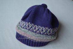 Веселый беретик-шапка
